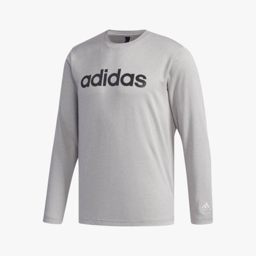 M SPORTS ID リニアロゴ長袖Tシャツ [FAT34]