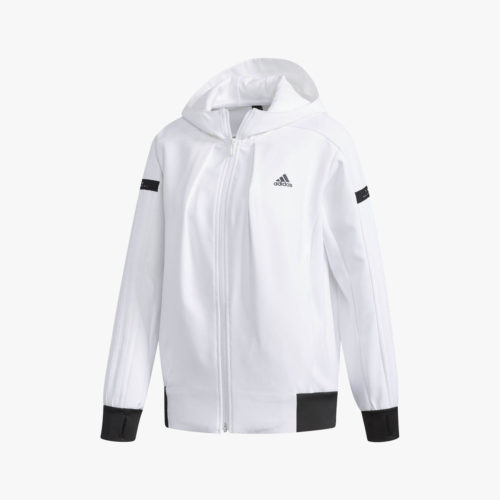 W adidas 24/7ウォームアップフーディー レディース [FKK17]
