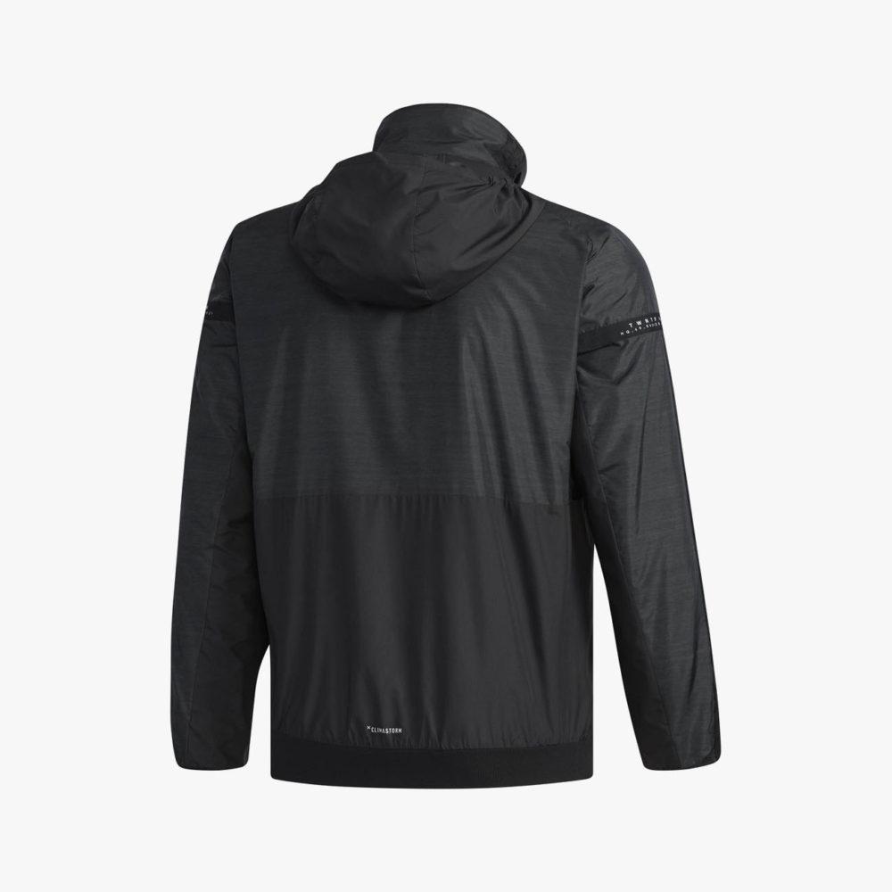 M adidas 24/7 ウインドブレーカージャケット (裏起毛) [FKK22]