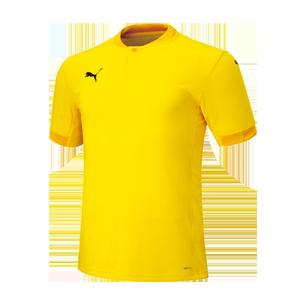 PUMA TEAMFINAL21 ジャガードシャツ 704624
